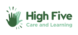 Logo for High Five Care and Learning
